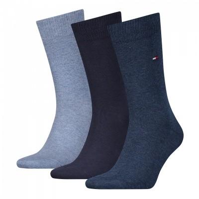 Foto van Tommy Hilfiger men sock promo 3 pack heren sokken 482999001 322