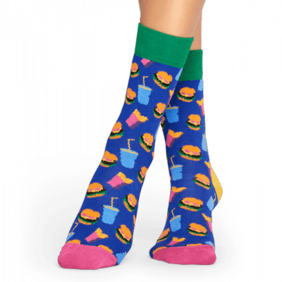 Foto van Happy socks HAMBURGER HAM01-6000