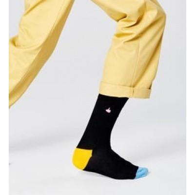 Foto van Happy socks BETU01-9300 Embroidery Thumbs Up Socks