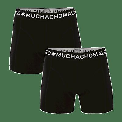 Foto van Muchachomalo Jongens 2-pack 1010JBASIC02 zwart