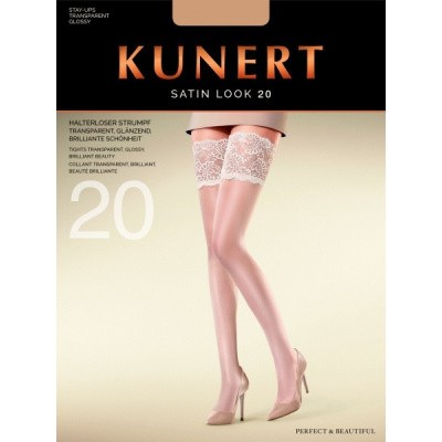 Foto van Kunert hold up kous Satin look 20 124000 black