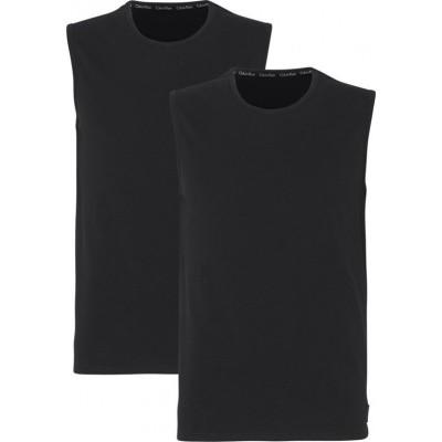 Foto van Calvin Klein hemd NB1631A 2 pack zwart
