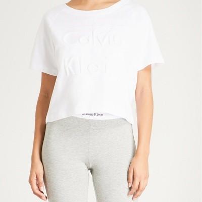 Foto van Calvin Klein shirt QS6081E-100 Wit