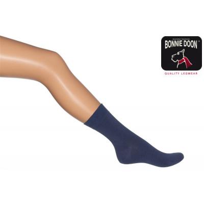 Foto van Bonnie Doon Cotton Socks 83422 INDIGO