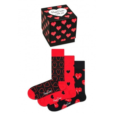 Happy Socks XLOV08-4300 I Love You Gift Box