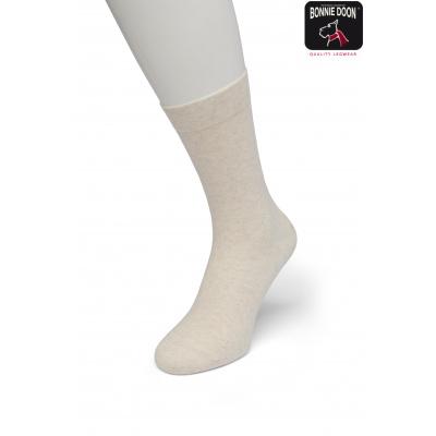 Foto van Bonnie Doon Cotton Socks 83422 ECRU HEATHER