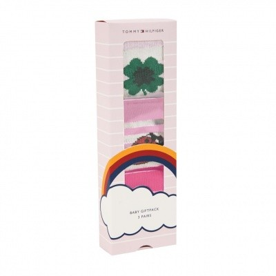 Foto van Tommy Hilfiger BABY LUCKY CHARMS GIFTBOX 3P Pink Lady 385005001397015