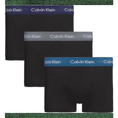 Foto van Calvin Klein 3 pack Low Rise Trunk U2664G SZM