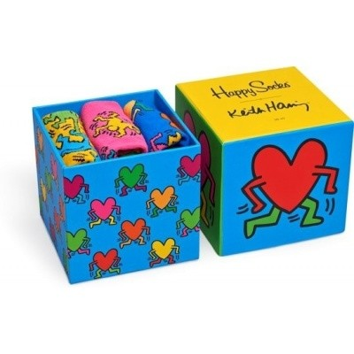 Foto van Happy Socks GIFTBOX KEITH HARING XKEH08-4000