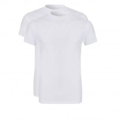 Foto van Ten Cate Men T-shirt 2 pack ronde hals 30678 wit