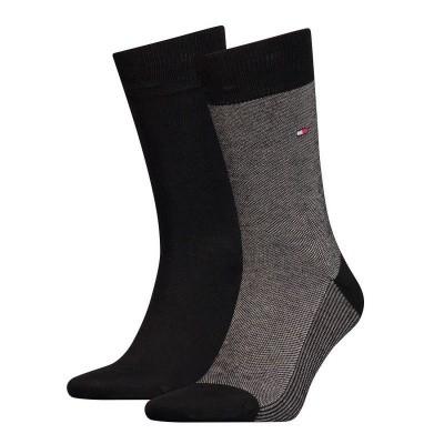 Foto van Tommy Hilfiger 2 pack heren sokken BIRDEYE 482004001 200