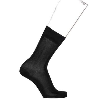Foto van Bonnie Doon Pure Cotton Sock BD812402 black