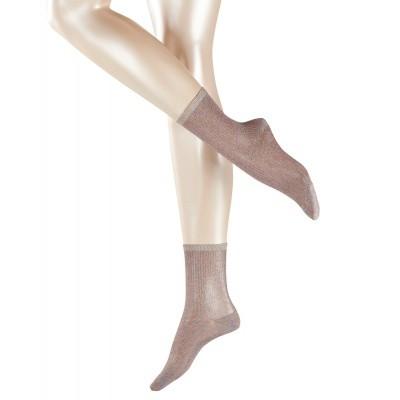 Foto van Esprit dames glitter sokken 17656 light grey