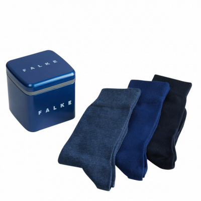 Foto van Falke giftbox HAPPY 3 paar effen sokken 13057 0020