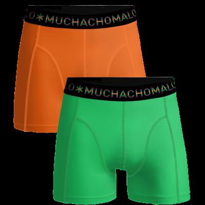 Foto van Muchachomalo 2 pack SOLID1010-349 GREEN /ORANGE