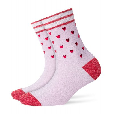 Foto van Burlington Valentines Rock Damen Socken 20690 marshmellow