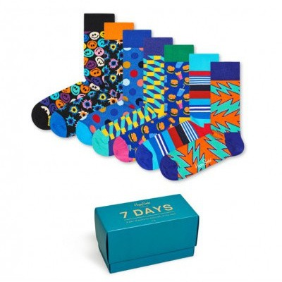 Foto van Happy socks XSNI08-0100 7 Day Gift Box