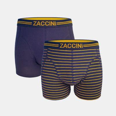 Foto van Zaccini 2-pack M08-231-01 Gold Stripe