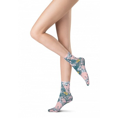 Foto van Oroblu socks 50 denier Flower Bloom Desire VOBC65880 BOTANIC