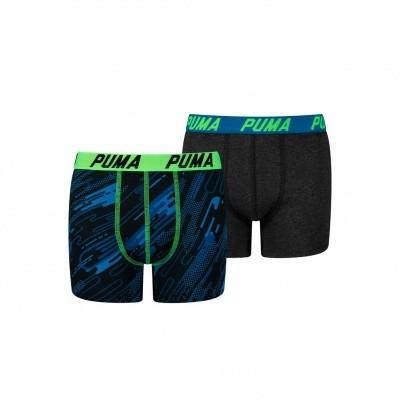 Foto van Puma kids 2 pack boxer 685002001 289