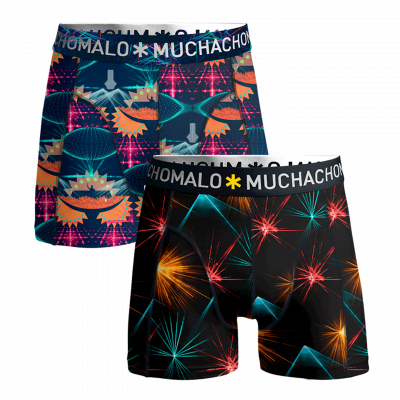 Foto van Muchachomalo MEN 2-PACK SHORTS EDM MUSIC EDM1010-04