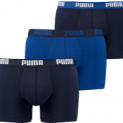 Foto van Puma 3 pack boxer heren 581008001 056 020 BLUE
