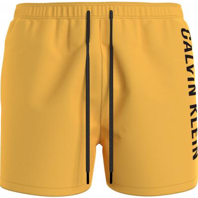 Foto van Calvin Klein zwembroek MEDIUM DRAWSTRING KM0KM00570ZFK Yellow Arch