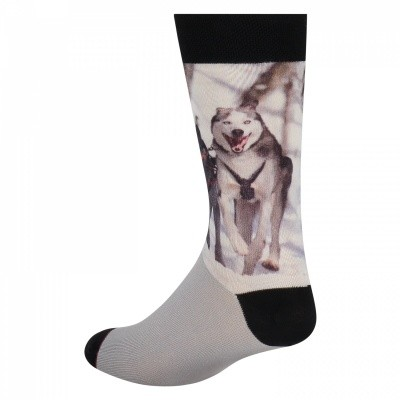Foto van SOCK MY FEET sock my HUSKIES