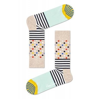 Foto van Happy socks SDO01-3000 STRIPES AND DOTS SOCKS