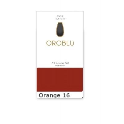 Foto van Oroblu ALL COLORS REVOLUTION SOCKS vobc655559 Orange 16