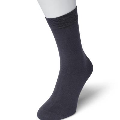 Foto van Bonnie Doon Cotton Socks 83422 DARK BLUE HEATHER