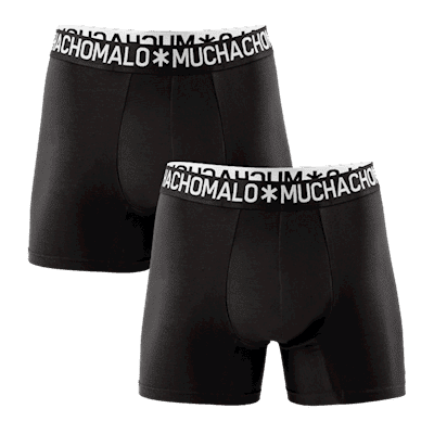 Foto van Muchachomalo 2 pack cotton solid 1132COTTON08
