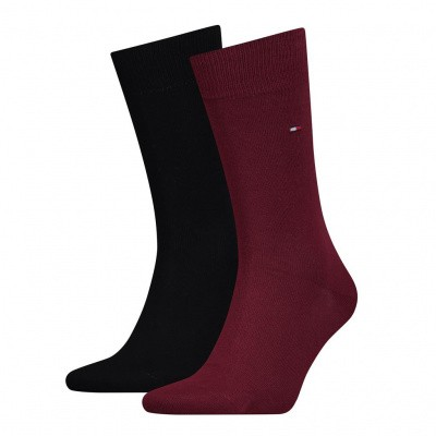 Foto van Tommy Hilfiger TH MEN SOCK CLASSIC 2P BORDEAUX
