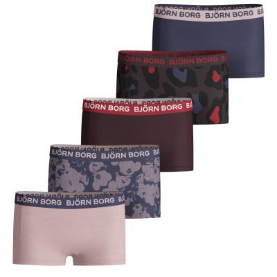 Foto van Björn Borg Girl's Underwear 5 Pack shorts
