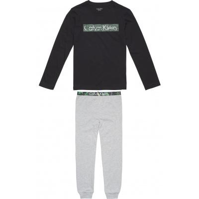 Foto van Calvin Klein Pyjama kids set B70B700157 027 black/grey heather