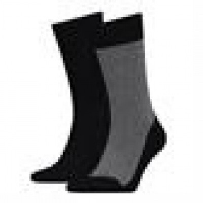 Foto van Tommy Hilfiger TH MEN MICRO JOEP SOCK 2P BLACK