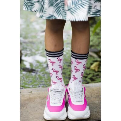 Foto van Bonnie Doon BN941113 Flamingo sock