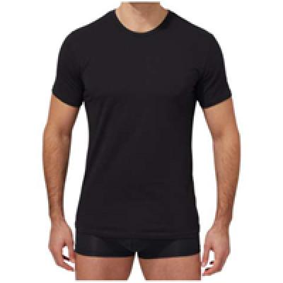 Foto van Calvin Klein U8509A 2 pack crew neck t-shirts zwart