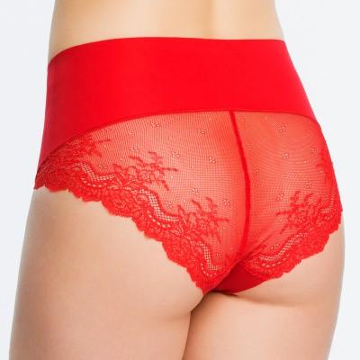Foto van Spanx undie-tectable lace Hi-hipster SP0515 red pop