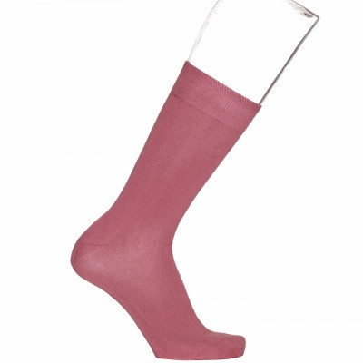 Foto van Bonnie Doon cotton sock BD632401 Faded Cherry