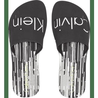 Foto van Calvin Klein SLIDE PRINT, 021 KW0KW00399021 slippers