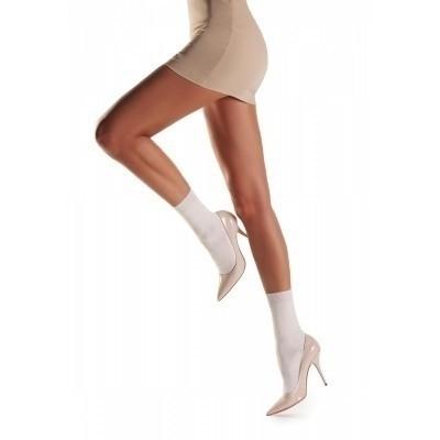 Foto van Oroblu fine cashmere blend socks Debra OR FCB10S Wool white