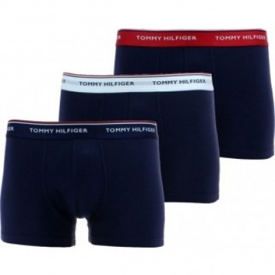 Foto van Tommy Hilfiger Cotton Stretch Low rise Trunk 3pack 1U87903841 904