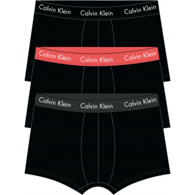 Foto van Calvin Klein 3 pack Low Rise Trunk U2664G- 6ZK