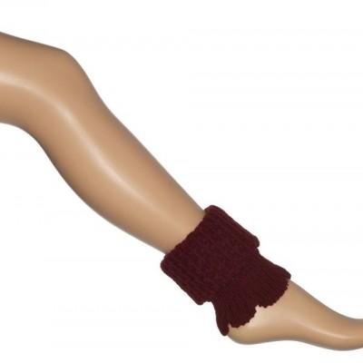 Bonnie Doon Honeycomb Boot Top BN351789 Claret