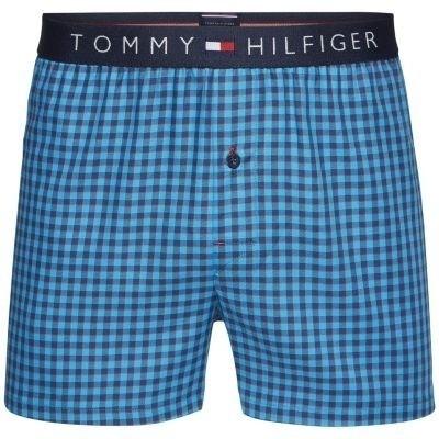 Foto van Tommy Hilfiger Hilfiger Icon woven boxer mini check UM0UM00408 493