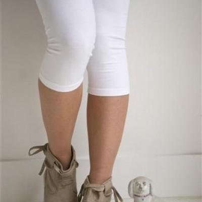 Foto van Bonnie Doon cotton legging wit