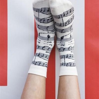 Foto van Bonnie Doon Brillante Sock BN 652140 ivory