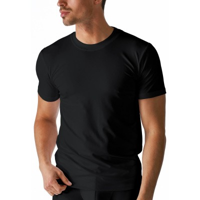 Foto van Mey dry cotton Olympia shirt round neck art.46003 zwart