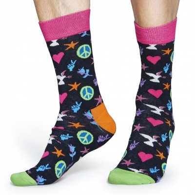 Foto van Happy socks PAL01 PEACE AND LOVE